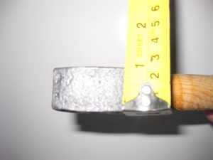 hammer size