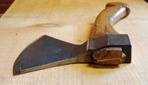 hewing axe